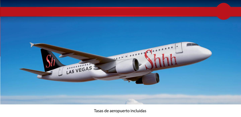 vuelo-avion-las-vegas-shhh cabaret