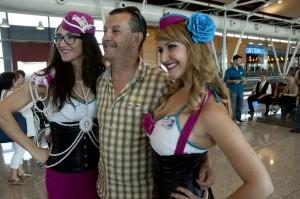 Tripulación Las Vegas Airlines
